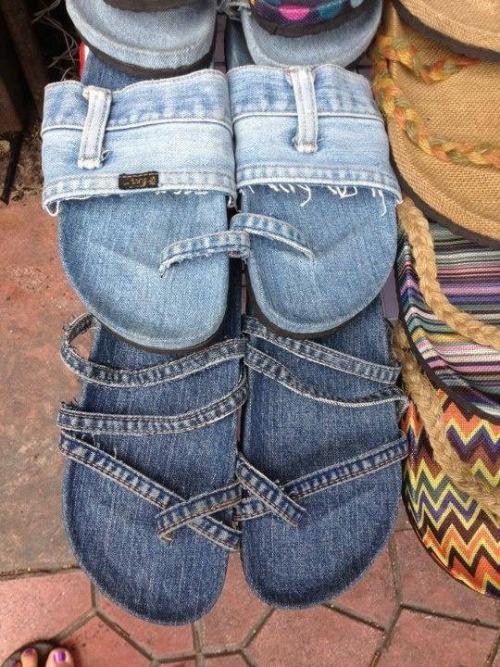 muon kieu sang tao khien ban cuoi lan tu quan jeans cu - 4