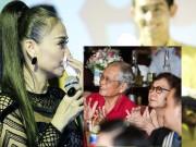 Làng sao - Thu Minh nức nở xin lỗi bố mẹ vì ồn ào thời gian qua