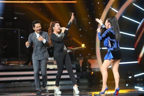 "chung ket vietnam idol: thu minh, phan anh bat ngo ""quay tung"" cung nguoi dep philippines - 14"