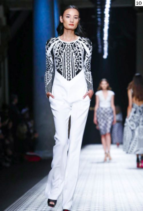 le thuy va trang pham lam nen lich su tai milan fashion week - 3