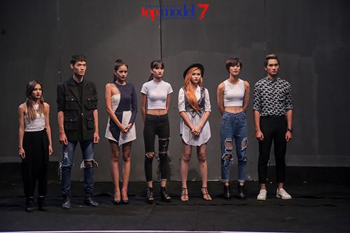 chi cao 1m54, fung la van di thang vao chung ket vietnam's next top model - 1