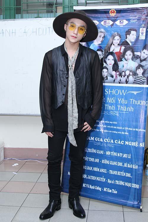 """huong giang idol """"dot mat"""" khan gia boi eo thon, dang chuan, nguc day - 7"""