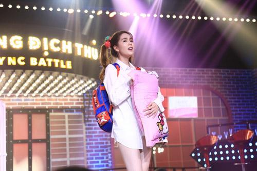 "ky phung dich thu: tran thanh nhac nho ngoc trinh ""nhan sac khong phai la tat ca"" - 11"
