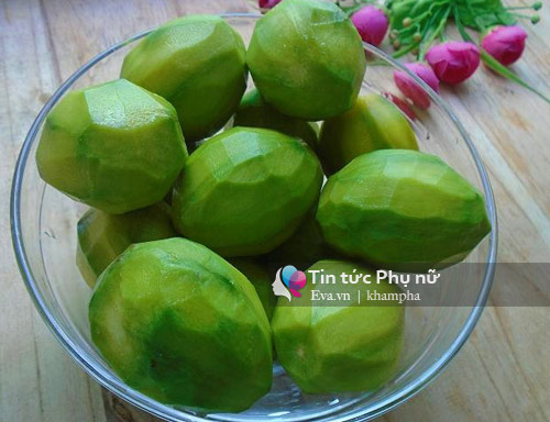 chay nuoc mieng voi o mai coc trong veo, deo thom - 2