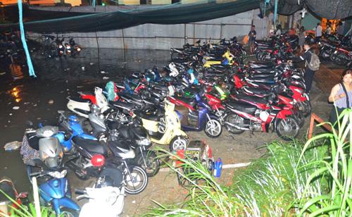 hon 1.000 xe may chim nghim duoi tang ham o sai gon - 2