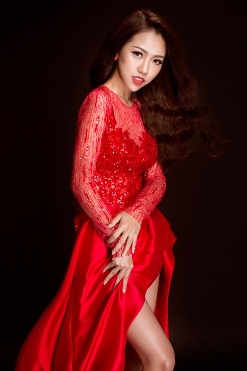 hot girl joxy thuy linh ngot ngao nhu cong chua voi dam da hoi - 5