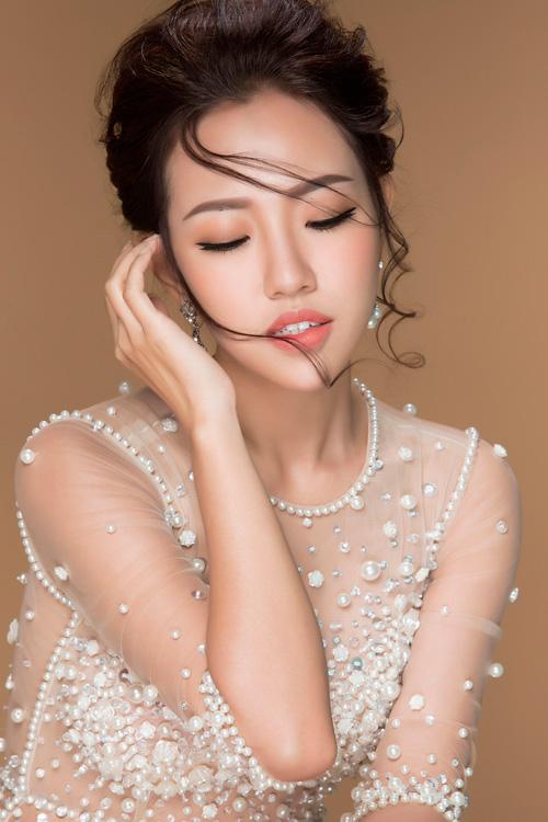 hot girl joxy thuy linh ngot ngao nhu cong chua voi dam da hoi - 7