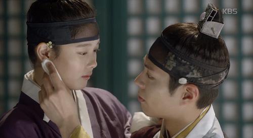 may hoa anh trang tap 12: bo gum bi chem trong thuong vi cuu yoo jung - 13