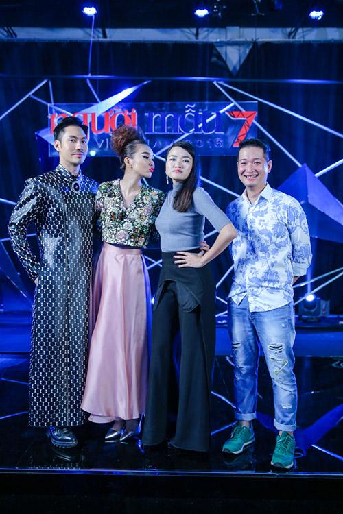 "vn next top model: ly qui khanh bien mat khoi ghe nong vi ""bat ca hai tay""? - 7"