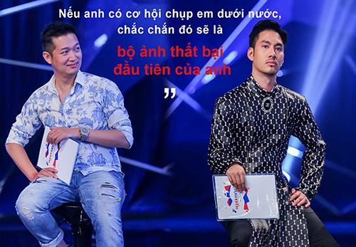 "vn next top model: ly qui khanh bien mat khoi ghe nong vi ""bat ca hai tay""? - 2"