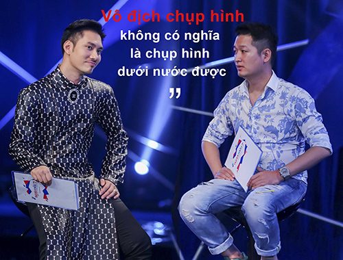 "vn next top model: ly qui khanh bien mat khoi ghe nong vi ""bat ca hai tay""? - 3"