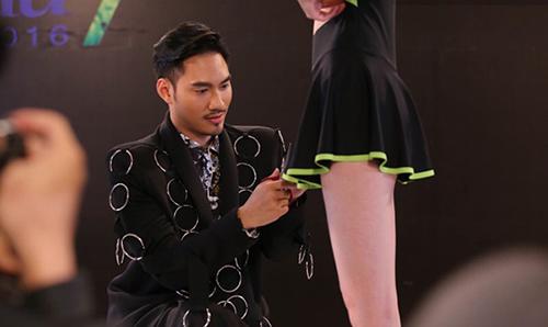ly qui khanh khong con tha thiet muon noi ve vn next top model - 4