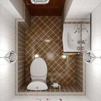 Phòng tắm nhỏ mà tiện nghi bất ngờ