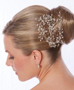 Chọn phụ kiện đẹp cho tóc cô dâu - 3