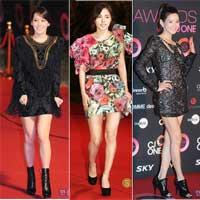 Những sao Hàn ăn mặc đẹp nhất 2010