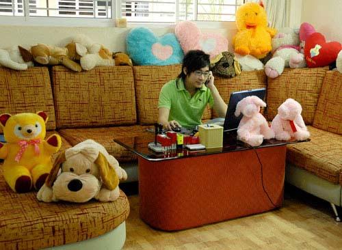 """Căn hộ """"nhí nhảnh"""" của ca sĩ Quang Hà - 5"""