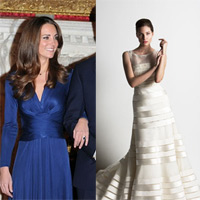 Váy cưới của Kate Middleton - Ai được 'chọn mặt gửi vàng?