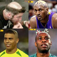 """Những kiểu đầu """"điên rồ"""" nhất làng thể thao"""