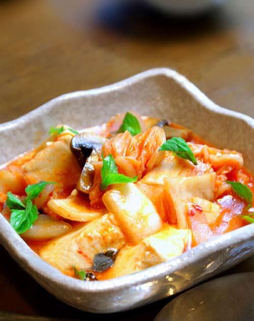 Kim chi Hàn hầm đậu phụ - 1
