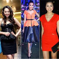 Diện trang phục dạ tiệc lộng lẫy như sao Việt
