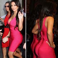 Kim Kardashian và vòng 3 đẹp nhất thế giới 2010