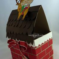 Cách làm hộp đựng quà Giáng sinh tuyệt đẹp