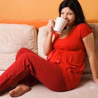 Uống café khi mang thai