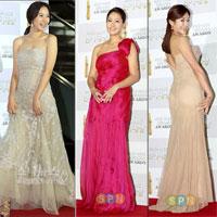 Dàn sao Hàn khoe sắc trên thảm đỏ MBC Drama Awards 2010