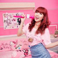 Phòng siêu hồng của hotgirl Hoài Anh Mango