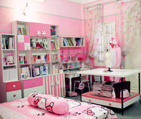 Phòng siêu hồng của hotgirl Hoài Anh Mango - 1