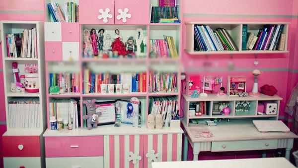 Phòng siêu hồng của hotgirl Hoài Anh Mango - 2