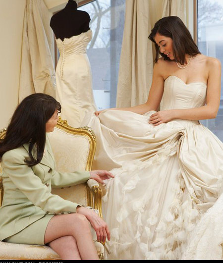 Chọn váy cưới hợp dáng người - 1