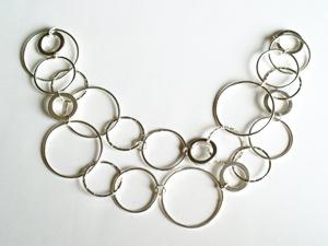 Tự chế dây chuyền móc vòng dịu dàng mà cá tính - 5
