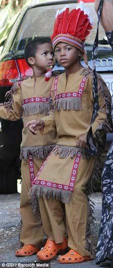 """Những chàng """"thổ dân"""" nhà Heidi Klum - 1"""
