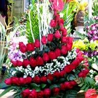Chiêm ngưỡng những bó hoa tiền triệu ngày 20-10