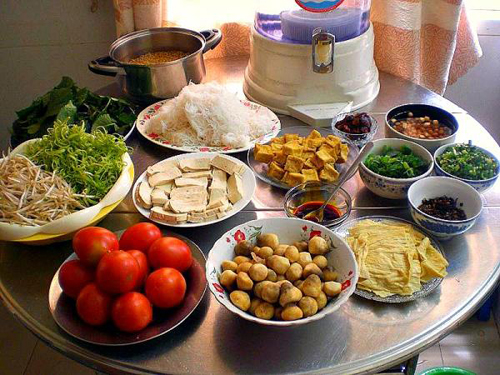 Bài dự thi: Bún riêu chay, món ngon dễ nấu - 2