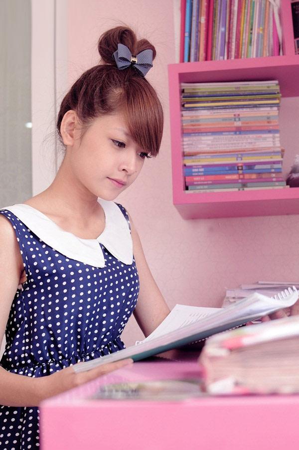 Hot girl Chi Pu khoe căn phòng nữ tính - 2