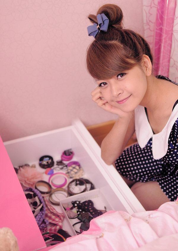 Hot girl Chi Pu khoe căn phòng nữ tính - 7