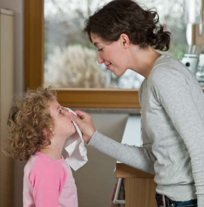 Trẻ sổ mũi: Phòng hơn chữa - 1
