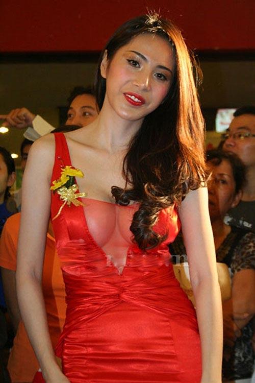 Chấm điểm sao Việt mặc váy xẻ sâu ngực - 21