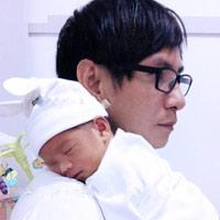 Ca sĩ Lý Hải tiết lộ ảnh 'cục cưng' mới sinh