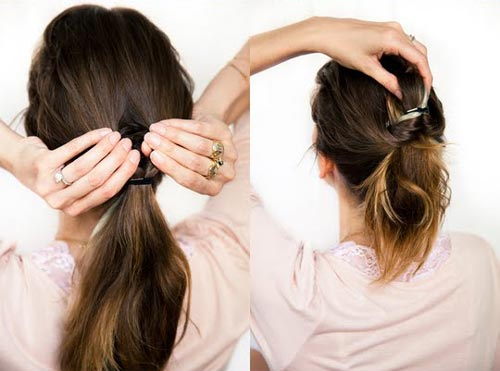 Xinh xinh kiểu tóc cô dâu - 2