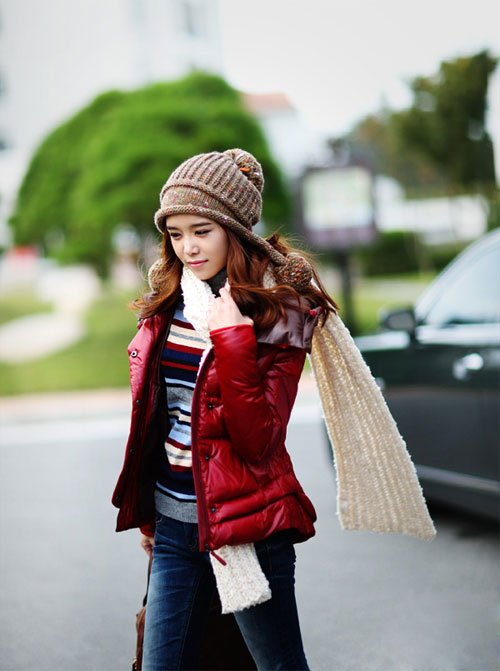 Các mẫu khăn quàng tuyệt đẹp ngày lạnh - 3