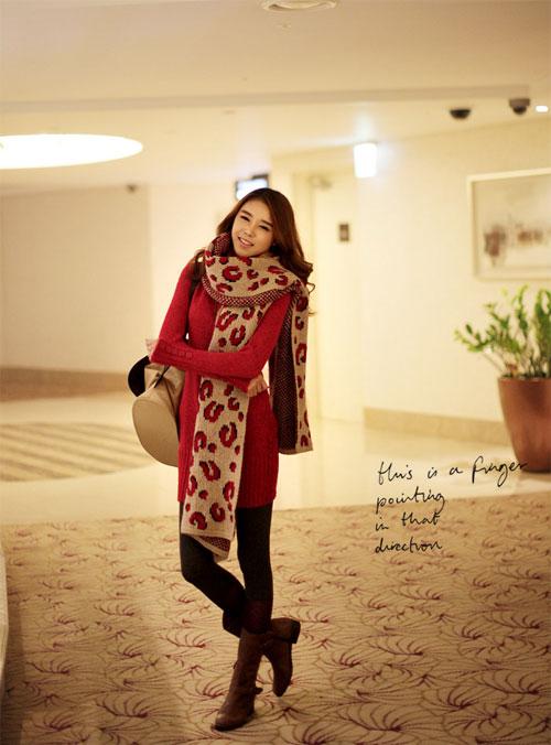 Các mẫu khăn quàng tuyệt đẹp ngày lạnh - 5