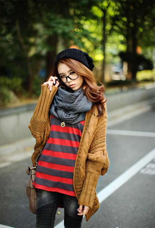 Các mẫu khăn quàng tuyệt đẹp ngày lạnh - 16