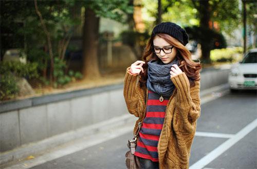Các mẫu khăn quàng tuyệt đẹp ngày lạnh - 17