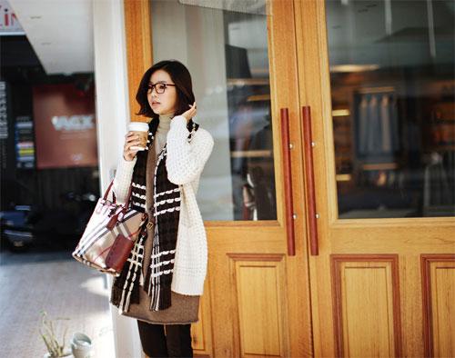 Các mẫu khăn quàng tuyệt đẹp ngày lạnh - 23