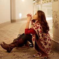 Các mẫu khăn quàng tuyệt đẹp ngày lạnh