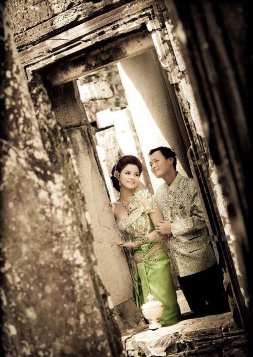 Ngắm trọn bộ ảnh cưới của siêu mẫu Vũ Thu Phương - 1