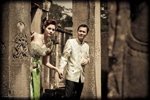 Ngắm trọn bộ ảnh cưới của siêu mẫu Vũ Thu Phương - 4